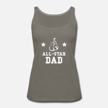 All Star All Star Boxing Dad - Women's Premium Tank Top