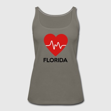 Heart Florida - Women's Premium Tank Top