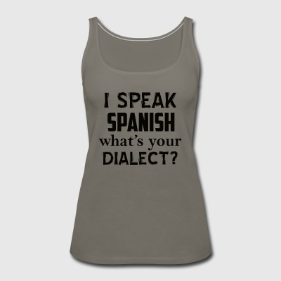 SPANISH design - Women's Premium Tank Top