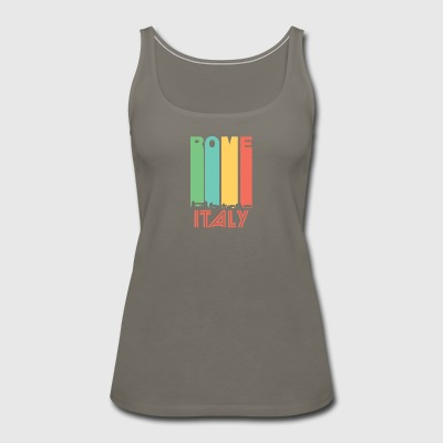 Retro Rome Skyline - Women's Premium Tank Top