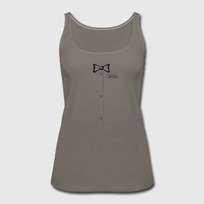 bow ties are cool - Women's Premium Tank Top