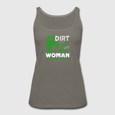 Dirt Bike Addiction Tee Shirt - Women's Premium Tank Top