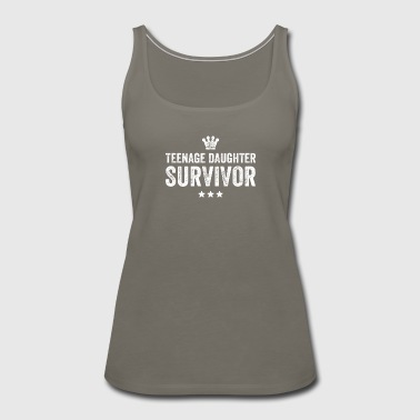 Teenage daughter survivor - Women's Premium Tank Top