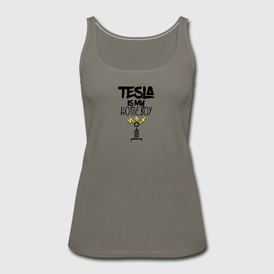 Tesla fan - Women's Premium Tank Top