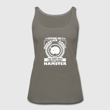 Hamster Guardian Angel Shirt - Women's Premium Tank Top