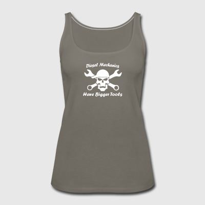 Diesel Mechanics Tools - Women's Premium Tank Top