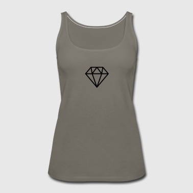 Funky Diamond - Women's Premium Tank Top