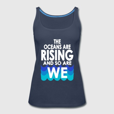 March For Science - Women's Premium Tank Top