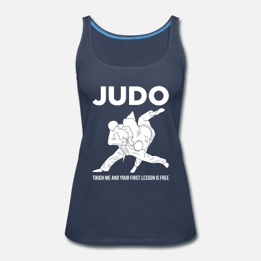 Mixed Martial Arts Judo Touch Me the First Lesson's Free Martial Arts - Women's Premium Tank Top