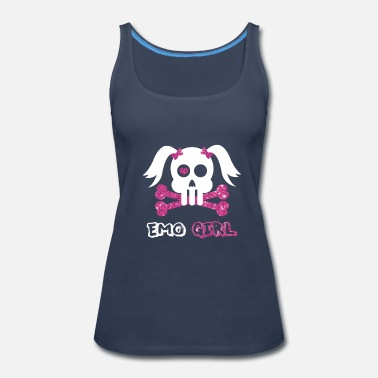Emo Emo Girl - Women's Premium Tank Top