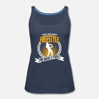 Cook I Only Care About Freestyle - Women's Premium Tank Top