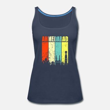 Hyderabad Ahmedabad Hyderabad India - Women's Premium Tank Top