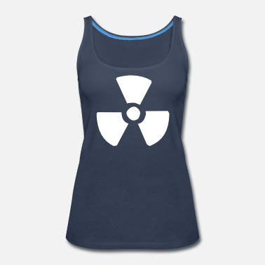 Nuclear Nuclear sign - Women's Premium Tank Top