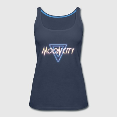 Moon City Logo - Women's Premium Tank Top