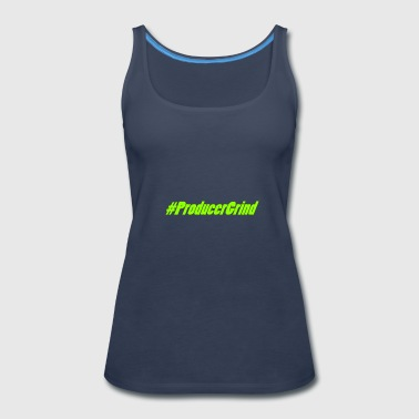 Producergrind Music producers - Women's Premium Tank Top
