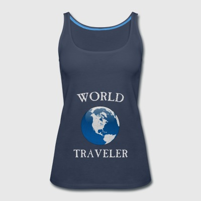 world traveler - Women's Premium Tank Top