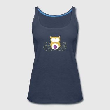 Sleeping owl - Women's Premium Tank Top