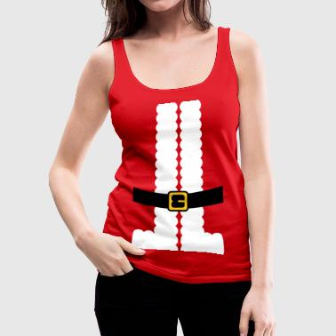 Santa Claus Santa Claus Suit Shirt - Women's Premium Tank Top
