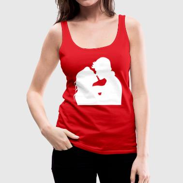 A Pair Of Lovers - Women's Premium Tank Top