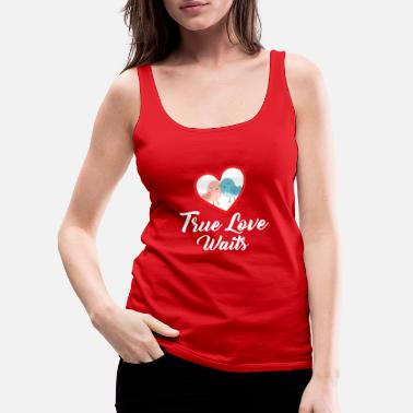 Pretty Valentine's Day & Love - True Love - Women's Premium Tank Top