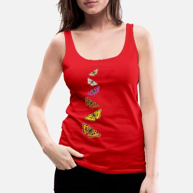 Collage Butterfly Collage - Women's Premium Tank Top