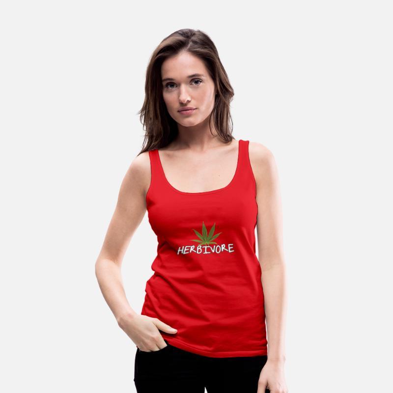 9b61b11b Herbivore Tank Tops - Herbivore - Women's Premium Tank Top red