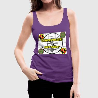 Technical Difficulties - Women's Premium Tank Top