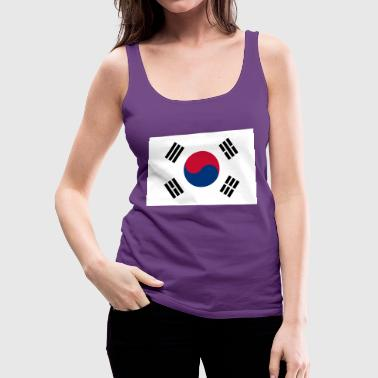 Flag of South Korea - Women's Premium Tank Top