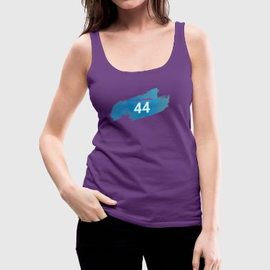 Lucky Number 44 - Women's Premium Tank Top