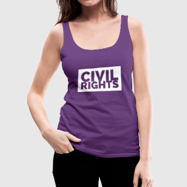 CIVIL RIGHTS - Women's Premium Tank Top