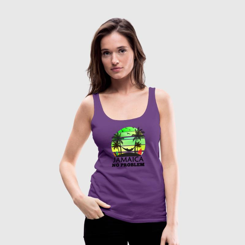 Jamaica No Problem - Women's Premium Tank Top