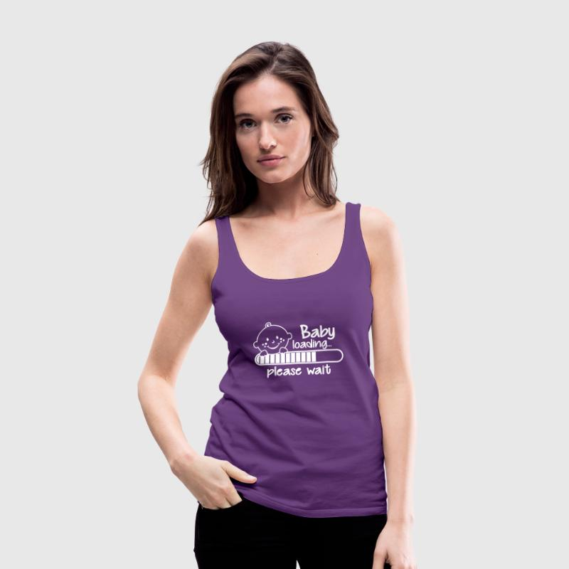 Baby loading... please wait - Women's Premium Tank Top