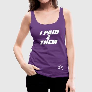 my hero wears combat boots - Women's Premium Tank Top