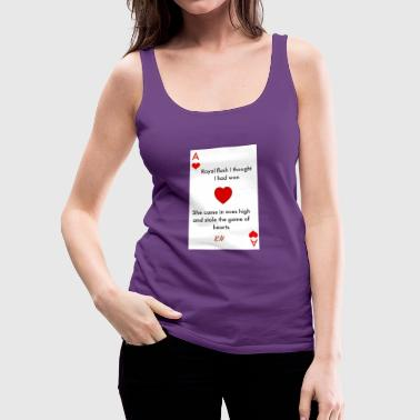 Royal Flush - Women's Premium Tank Top