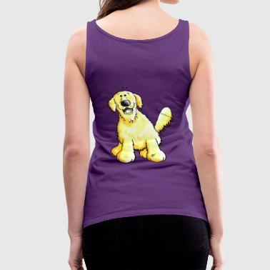 Cute Golden Retriever - Dog - Dogs - Women's Premium Tank Top
