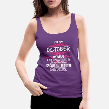 Woman OCTOBER Woman And Mother - Women's Premium Tank Top