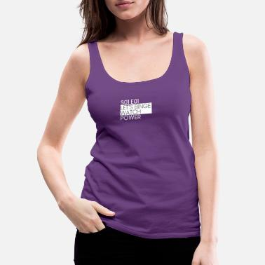 Power Power - Women's Premium Tank Top