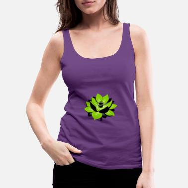 lotus flower - Women's Premium Tank Top