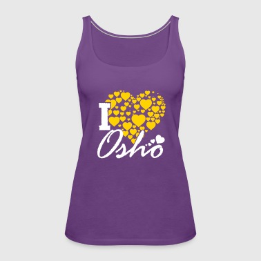 I Love Osho - Women's Premium Tank Top