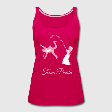 Team Bride Husband Fishing (Hen Party 2C) - Women's Premium Tank Top