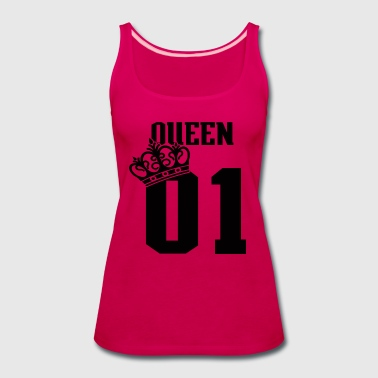 QUEEN-01  - Women's Premium Tank Top