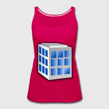 Building - Women's Premium Tank Top