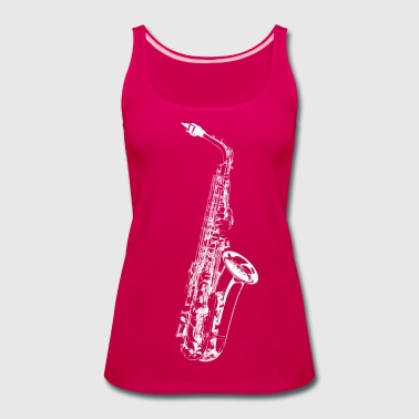 Sax - Women's Premium Tank Top