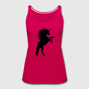 Rearing Unicorn - Women's Premium Tank Top