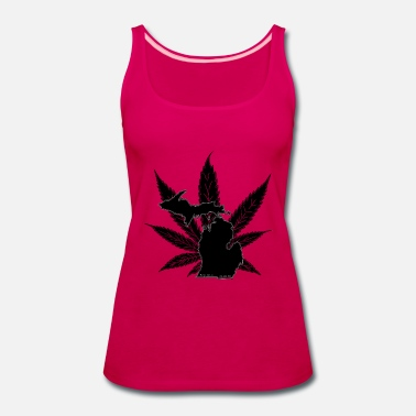 Prop Michigan Prop 18-1 (black on black) - Women's Premium Tank Top