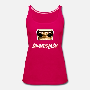 Dancehall soundclash dancehall reggae party - Women's Premium Tank Top