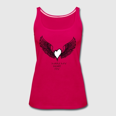 wing2A - Women's Premium Tank Top