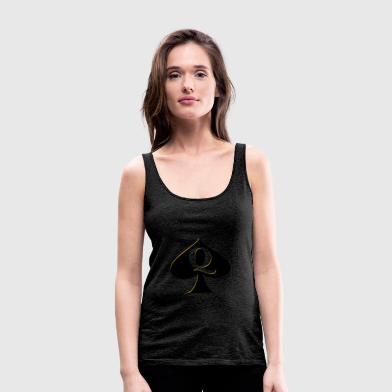 Queen of Spades - Women's Premium Tank Top