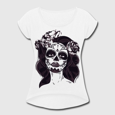 Tat Lady - Women's Roll Cuff T-Shirt
