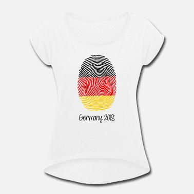 Germany World Cup 2018 - Women's Roll Cuff T-Shirt